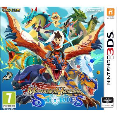 Monster Hunter Stories [3DS, английская версия]