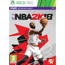 NBA 2K18 [Xbox 360, английская версия]