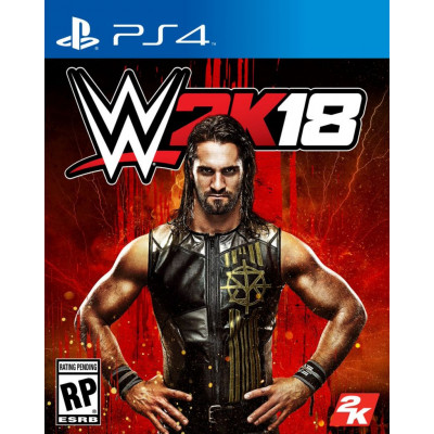 Игра для PlayStation 4 WWE 2K18 (английская версия)