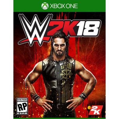 Игра для Xbox One WWE 2K18 (английская версия)