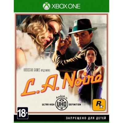 L.A.Noire [Xbox One, русские субтитры]