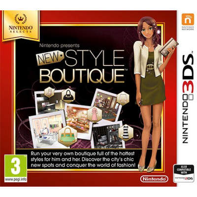 Игра для Nintendo 3DS New Style Boutique (Nintendo Selects) (английская версия)