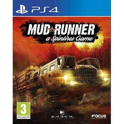 Spintires: MudRunner [PS4, русские субтитры]