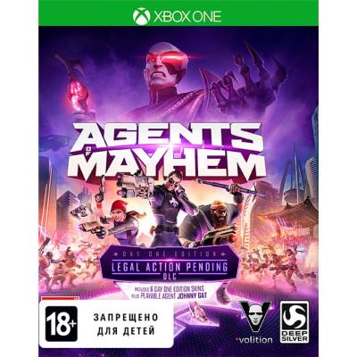 Agents of Mayhem. Издание первого дня [Xbox One, русские субтитры]