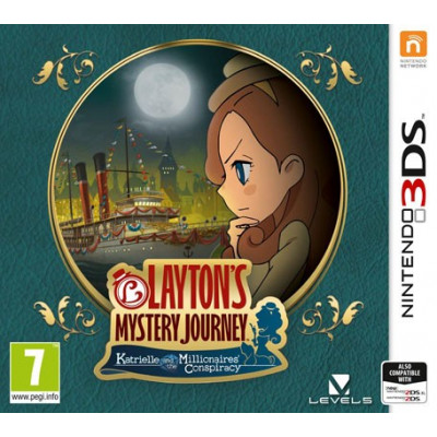 LAYTON'S MYSTERY JOURNEY: Katrielle and the Millionaires Conspiracy [3DS, английская версия]