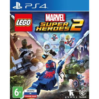 Игра для PlayStation 4 LEGO Marvel Super Heroes 2 (русские субтитры)