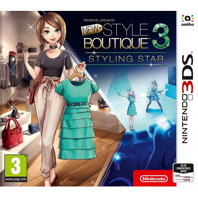 New Style Boutique 3 - Styling Star [3DS, английская версия]