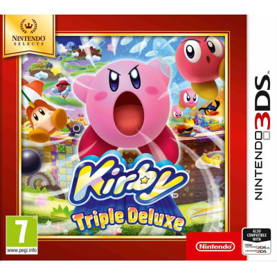 Kirby: Triple Deluxe (Nintendo Selects) [3DS, английская версия]
