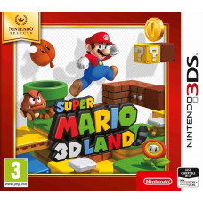 Super Mario 3D Land (Nintendo Selects) [3DS, английская версия]