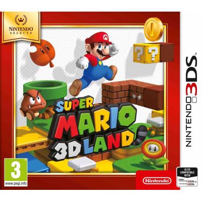 Super Mario 3D Land (Nintendo Selects) [3DS, английская версия]