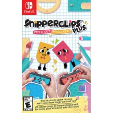 Snipperclips Plus: Cut it out, together! [NS, английская версия]