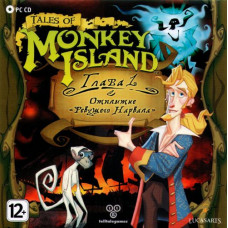 Tales of Monkey Island: Глава 1 - Отплытие ревущего нарвала [PC, Jewel, русская версия]