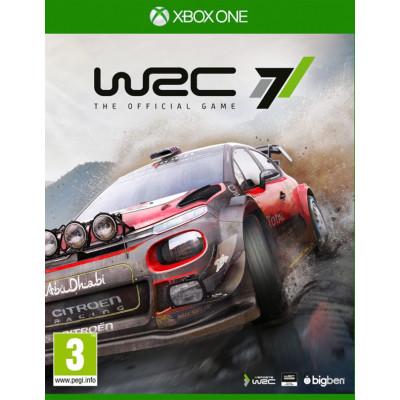 WRC 7 [Xbox One, русские субтитры]