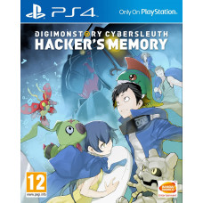 Digimon Story: Cyber Sleuth - Hacker's Memory [PS4, английская версия]