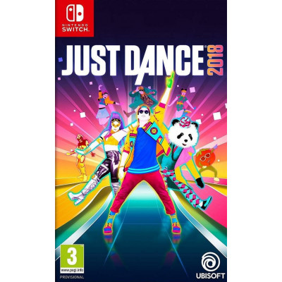 Just Dance 2018 [NS, русская версия]