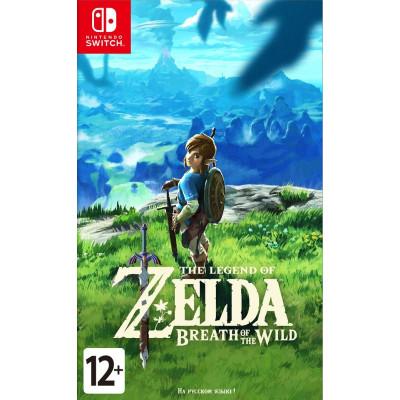 Игра для Nintendo Switch The Legend of Zelda: Breath of the Wild (русская версия)
