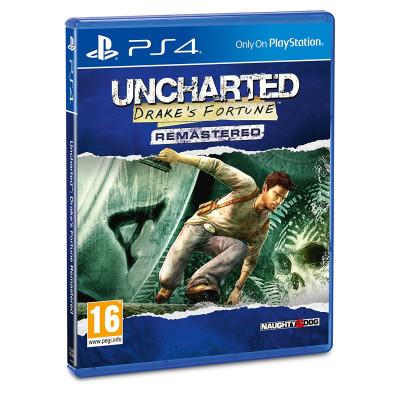 Игра для PlayStation 4 Uncharted: Судьба Дрейка. Обновленная версия (русская версия)