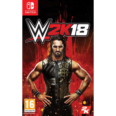 Игра для Nintendo Switch WWE 2K18