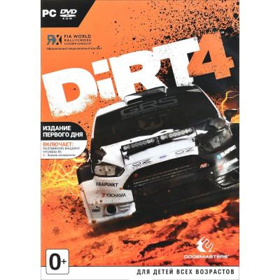 DiRT 4. Издание первого дня [PC, английская версия]