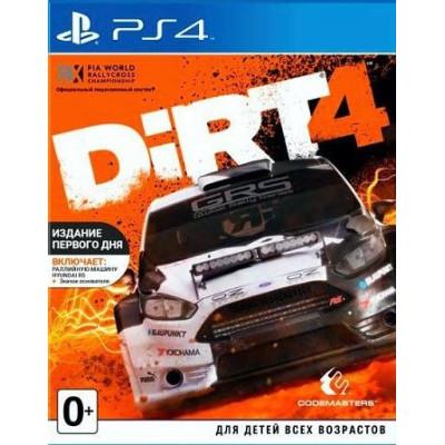 DiRT 4. Издание первого дня [PS4, английская версия]