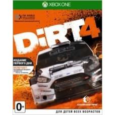 DiRT 4. Издание первого дня [Xbox One, английская версия]