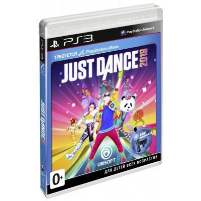 Just Dance 2018 (только для PS Move) [PS3, английская версия]