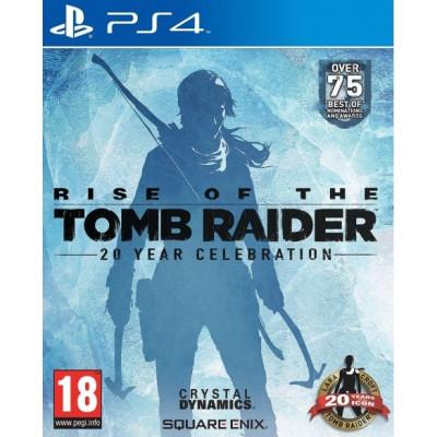 Rise of the Tomb Raider. 20-летний юбилей [PS4, английская версия]