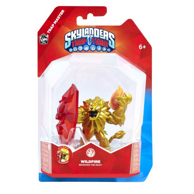 Интерактивная фигурка Skylanders: Trap Team - Trap Master - Wildfire (Fire) [PS4, Xbox One, PS3, Xbox 360, 3DS, Wii]