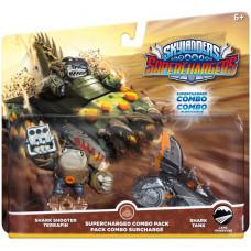 Набор интерактивных фигурок Skylanders: SuperChargers - Superchargers Combo Pack - 2-е фигурки стихии Earth [PS4, Xbox One, PS3, Xbox 360, 3DS, Wii, Wii U]