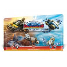 Набор интерактивных фигурок Skylanders: SuperChargers - 2-е фигурки стихии Earth и 1-а фигурка стихии Air [PS4, Xbox One, PS3, Xbox 360, 3DS, Wii, Wii U]