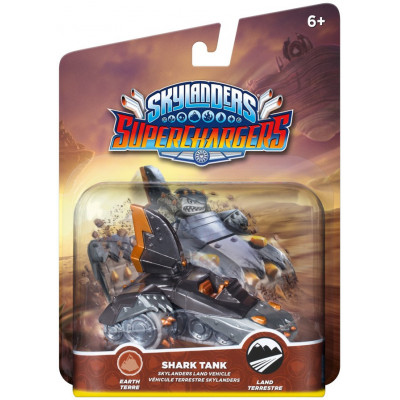 Интерактивная фигурка Skylanders: SuperChargers - Land Vehicle - Shark Tank (Earth) [PS4, Xbox One, PS3, Xbox 360, 3DS, Wii, Wii U]