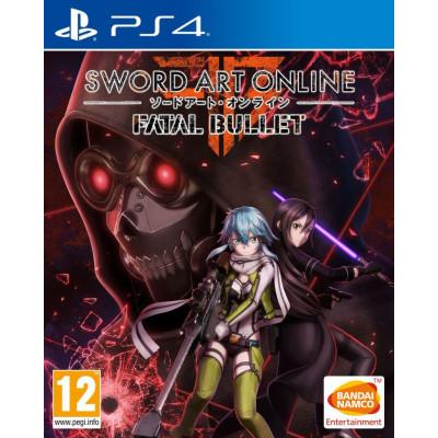 Игра для PlayStation 4 Sword Art Online: Fatal Bullet (английская версия)