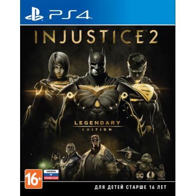 Игра для PlayStation 4 Injustice 2. Legendary Edition (русские субтитры)