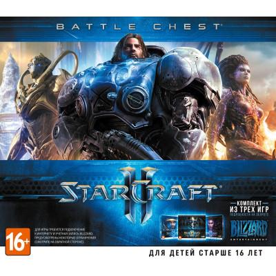 StarCraft II. Battle Chest [PC, Jewel, русская версия]