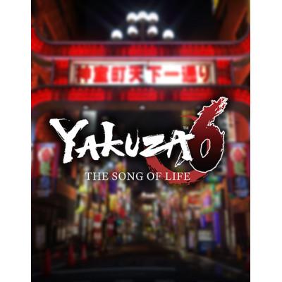 Yakuza 6: The Song of Life [PS4, английская версия]
