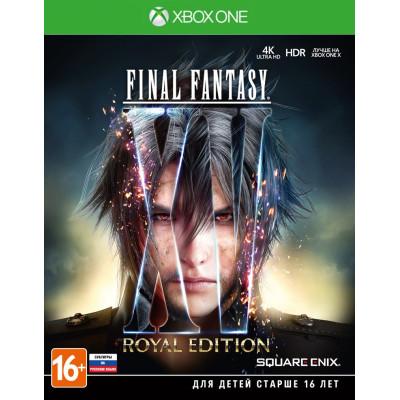 Игра для Xbox One Final Fantasy XV. Royal Edition (русские субтитры)