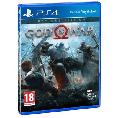 God of War. Day One Edition [PS4, русская версия]