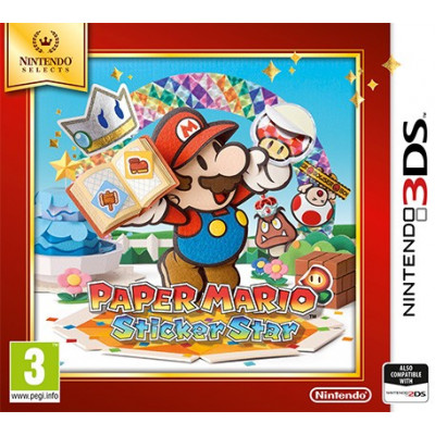 Paper Mario: Sticker Star (Nintendo Selects) [3DS, английская версия]