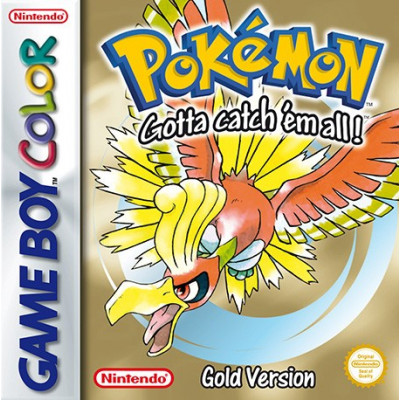 Pokemon Gold (code) [3DS, английская версия]