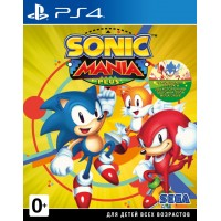 Sonic Mania Plus [PS4, английская версия]