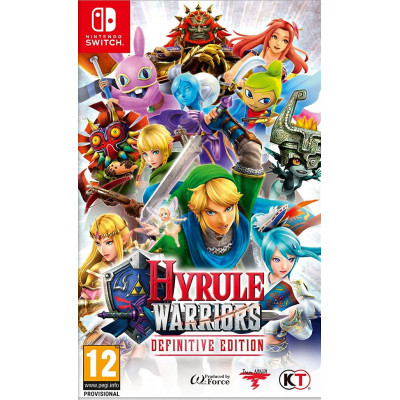 Игра для Nintendo Switch Hyrule Warriors. Definitive Edition (английская версия)