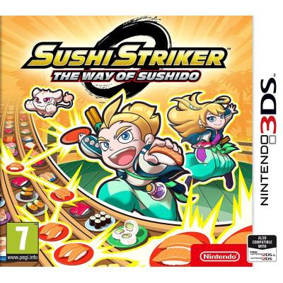 Игра для Nintendo 3DS Sushi Striker: The Way of Sushido (английская версия)