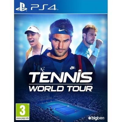 Tennis World Tour [PS4, русские субтитры]