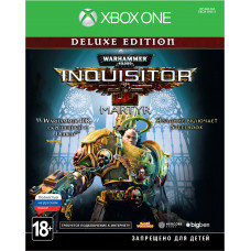 Warhammer 40,000: Inquisitor - Martyr. Deluxe Edition [Xbox One, русская версия]