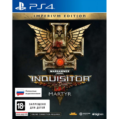 Warhammer 40,000: Inquisitor - Martyr. Imperium Edition [PS4, русская версия]