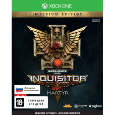 Warhammer 40,000: Inquisitor - Martyr. Imperium Edition [Xbox One, русская версия]