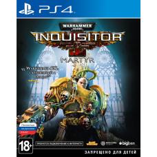 Warhammer 40,000: Inquisitor - Martyr [PS4, русская версия]