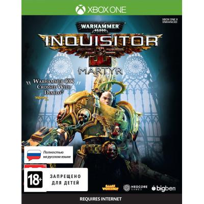 Warhammer 40,000: Inquisitor - Martyr [Xbox One, русская версия]