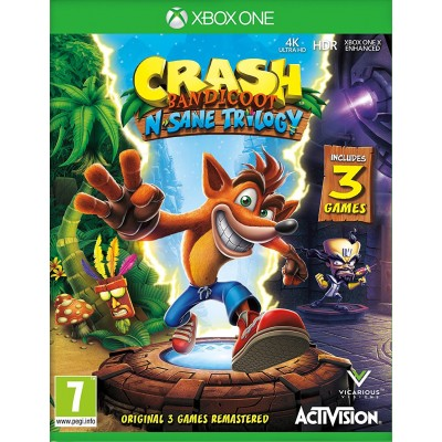 Crash Bandicoot N'sane Trilogy [Xbox One, английская версия]