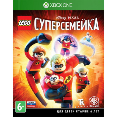 LEGO Суперсемейка [Xbox One, русские субтитры]